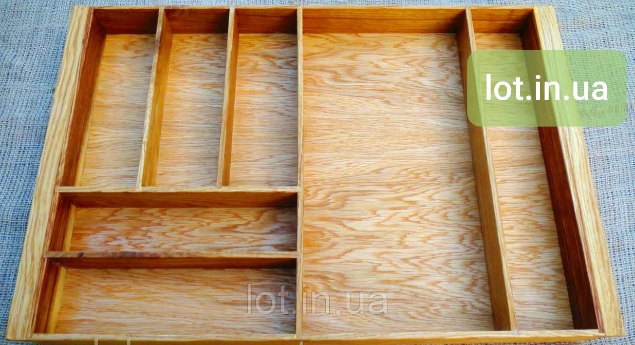 Деревянный лоток для столовых приборов Lot 507 800х400. (индивидуальные размеры)