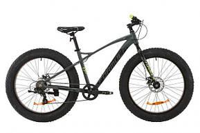 """Велосипед фэт байк (Fat Bike) 26"""" Formula Paladin DD 2020 алюминиевая рама 17"""", фото 2"""