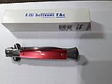 Нож Итальянский автоматический стилет Linder Beltrame 20см пластик красный, фото 3
