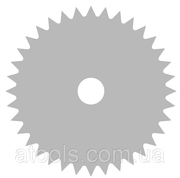 Пильный диск без напаек для поперечного реза 400x32x72z 3мм