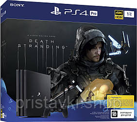 Playstation 4 Pro з грою Death Stranding 1tb PS4