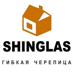 Битумная черепица Shinglas (однослойная)