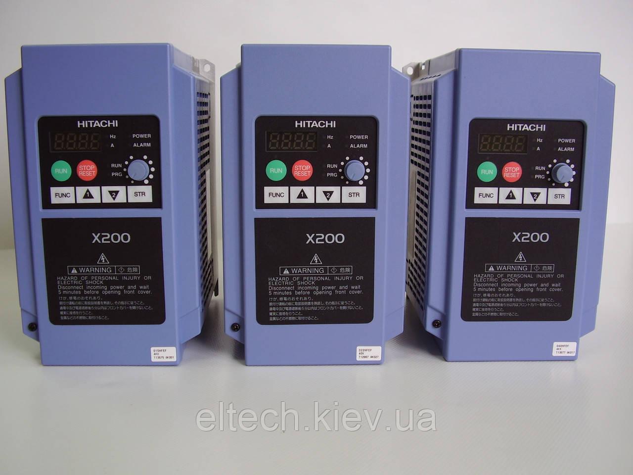Преобразователь частоты X200-015HFEF, 1.5кВт, 380В