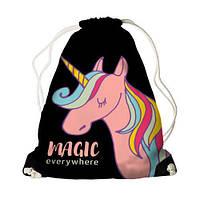 Детский рюкзак-мешок для игрушек,обуви Magic everywhere