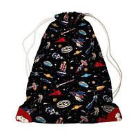 Детский рюкзак-мешок для игрушек,обуви Путешествие в космос