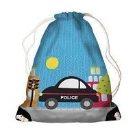 Детский рюкзак-мешок для игрушек,обуви  Полиция