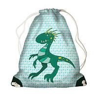 Детский рюкзак-мешок для игрушек,обуви Динозавр