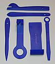 Комплект інструменту для зняття панелей салону ZIRY Professional 11-plus-1 pcs blue, фото 3