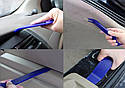 Комплект інструменту для зняття панелей салону ZIRY Professional 11-plus-1 pcs blue, фото 7