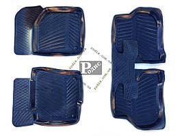 Резиновые коврики VW Passat B6 2005-2010/Tiguan I 2007-2011 (Россия) - Резиновые коврики Фольксваген Пассат Б6