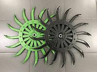 Оригинальные колеса на мотыгу, борону ротационную John Deere an142664, Yetter