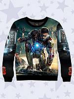 3D свитшот  Iron Man; XXS, XS, S, M, L, XL