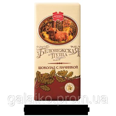 Беловежская Пуща (с начинкой шоколад) 100г ТМ Коммунарка