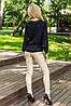 Однотонные женские узкие брюки-лосины (Кожаные sk), фото 4