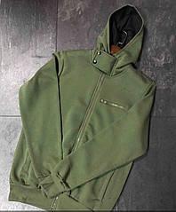 Мужская кофта c капюшоном в спортивном стиле, худи,толстовка,см.замеры в описании