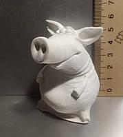 Гипсовая фигурка для раскрашивания статуэтка. Гіпсова фігурка для розмальовування. Свин 2