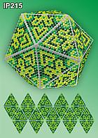 Набор алмазной вышивки  ТМ Вдохновение НОВОГОДНИЙ ШАР IP215 ГРАФИКА ИКС