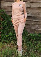 Женский спортивный костюм Ангора 20548 пудровый, фото 1