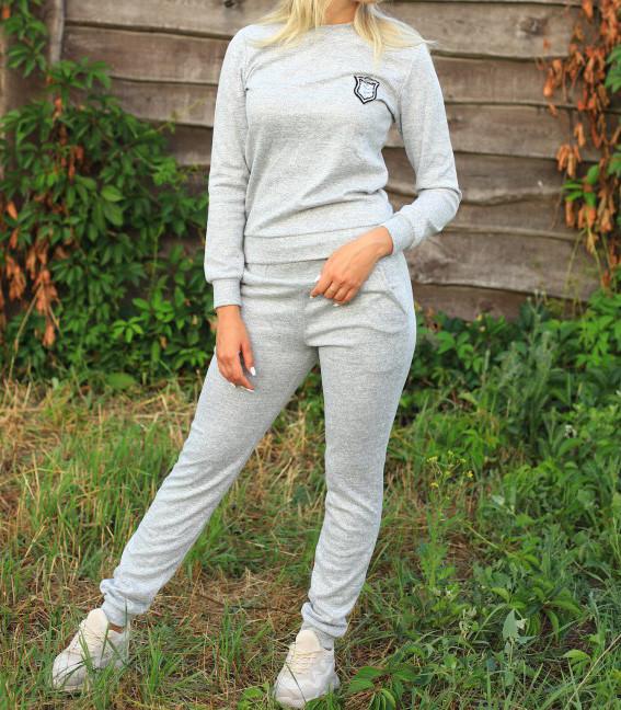 Женский костюм Ангора 20549 серый