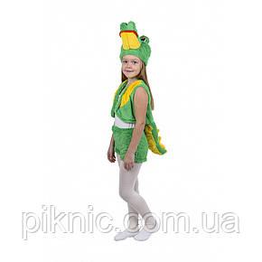Костюм Крокодила для детей 3,4,5,6 лет. Детский новогодний карнавальный костюм Крокодильчик 342, фото 2