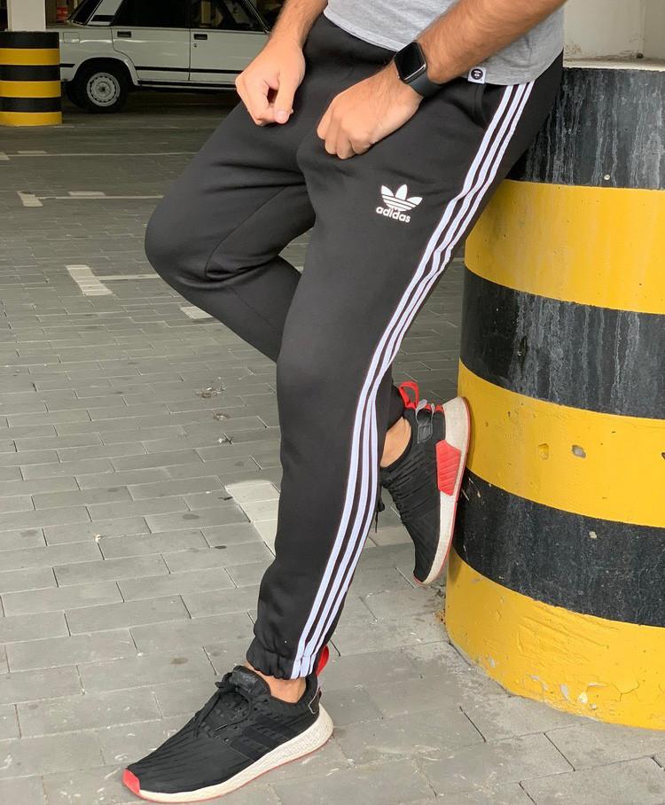 Утеплённые штаны Adidas 20565 черные