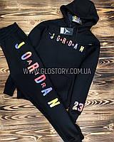 Спортивный костюм Jordan, трехнитка на флисе