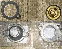 Термостат для двигателя МеМЗ. Комплект для установки термостата от 1,4L на СЕНС, Л1300 и Таврию. Альтернатива