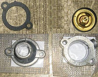 Термостат для двигателя МеМЗ. Комплект для установки термостата от 1,4L на СЕНС, Л1300 и Таврию. Альтернатива, фото 1