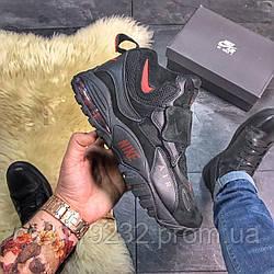 Мужские кроссовки Nike Air Max Speed Turf (черные)