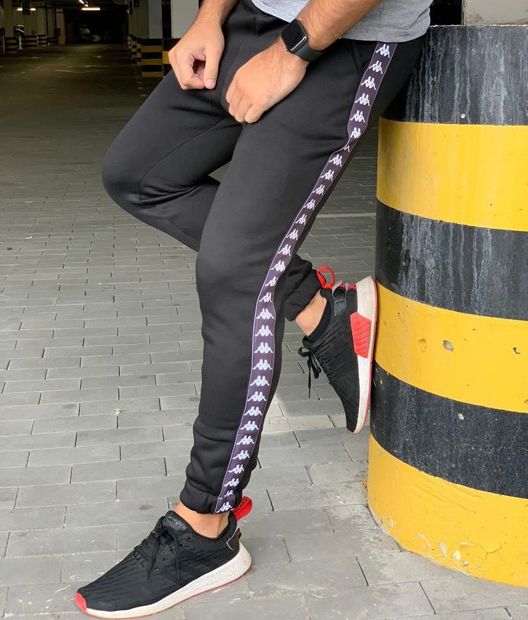 Утеплённые штаны Kappa 20568 черные