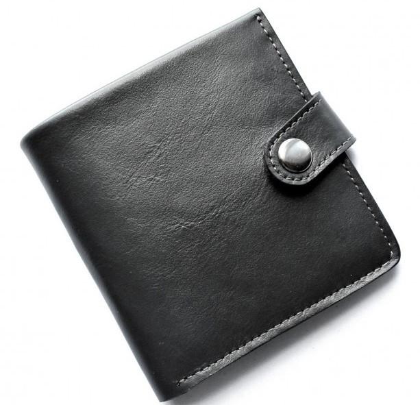 Кожаный кошелек мужской Lato oscuro 20645 черный