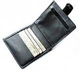 Кожаный кошелек мужской Lato oscuro 20645 черный, фото 2