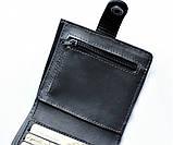 Кожаный кошелек мужской Lato oscuro 20645 черный, фото 4