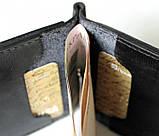 Мужской кожаный зажим Оlio 20647 черный, фото 5