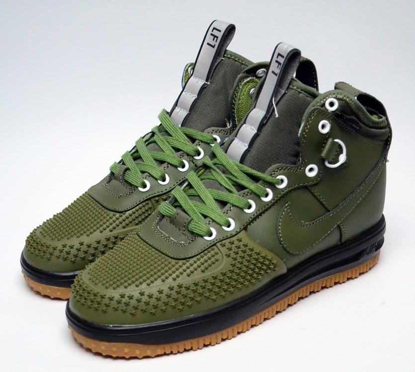 Кроссовки Nike Air Lunar Force 20561 темно-зеленые