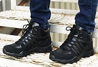 Зимние кроссовки Adidas 20661 черные, фото 1