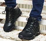Зимние кроссовки Adidas 20661 черные, фото 2
