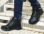 Зимние кроссовки Adidas 20661 черные, фото 3