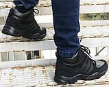 Зимние кроссовки Adidas 20661 черные, фото 5
