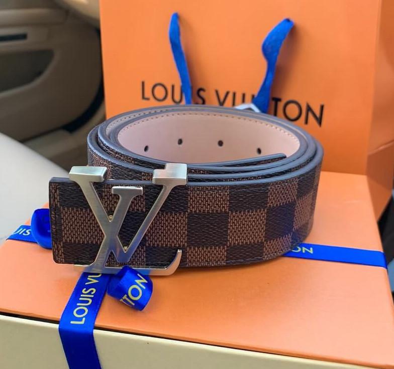 Ремінь Louis Vuitton 20617 коричневий