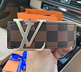 Ремінь Louis Vuitton 20617 коричневий, фото 6