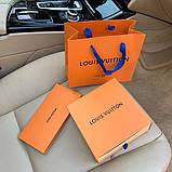 Ремінь Louis Vuitton 20617 коричневий, фото 9