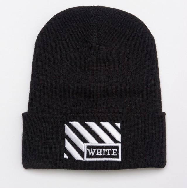 Зимняя шапка OFF WHITE Line 20465 черная