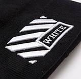 Зимняя шапка OFF WHITE Line 20465 черная, фото 2