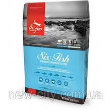 Orijen Adult 6 Fish Гипоаллергенный корм для взрослых собак 6 кг