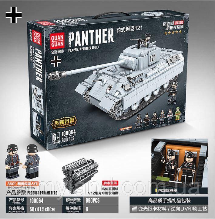 Танк Пантера, военный конструктор, аналог Лего