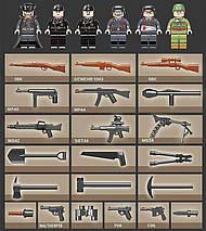 Танк Пантера, военный конструктор, аналог Лего, фото 3