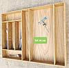 Деревянный лоток для столовых приборов Lot 108 900х500. (индивидуальные размеры), фото 4
