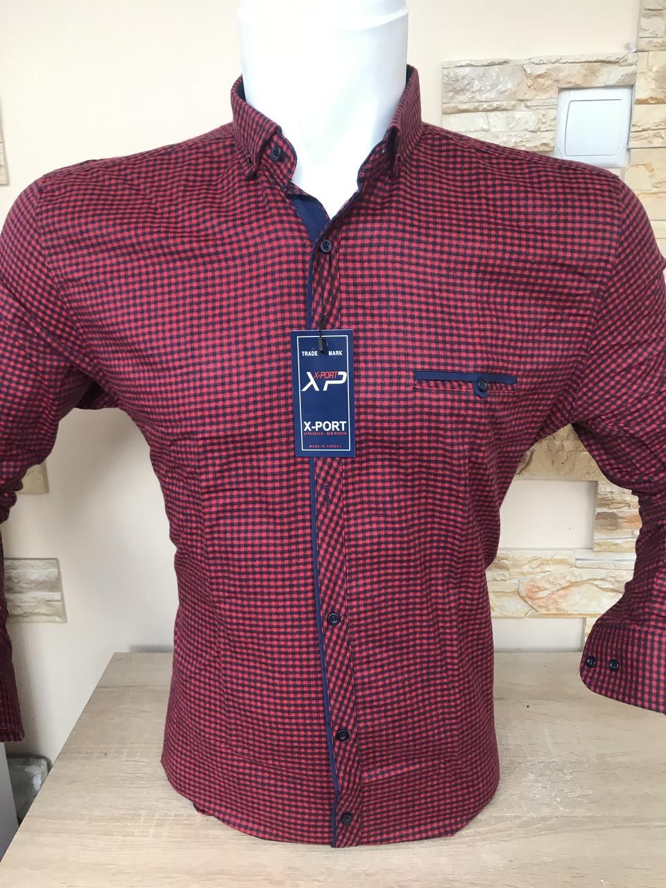 Теплая кашемировая рубашка Х-port