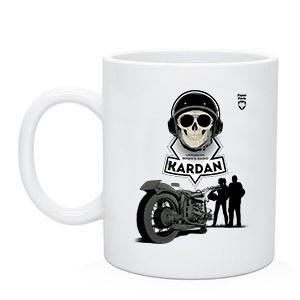 """Байкерская чашка """"Радио Кардан"""""""
